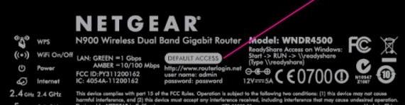 美国网件(NETGEAR)路由器设置网址
